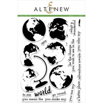 Altenew - Big World - Clear Stamps 6x8