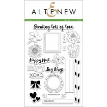 Altenew - Happy Mail - Clear Stamps 4x6
