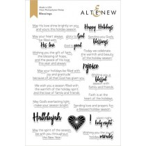 Altenew - Blessings - Clear Stamp 6x8