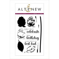 Altenew - Blissful Bud - Clear Stamps 4x6