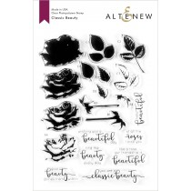 Altenew - Classic Beauty - Clear Stamp 6x8