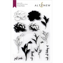 Altenew - Frilled Petals - Clear Stamp 6x8