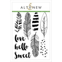 Altenew - Golden Feather - Clear Stamps 6x8