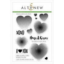 Altenew - Halftone Hearts - Clear Stamps 6x8