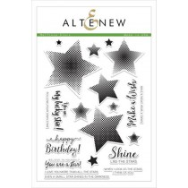 Altenew - Halftone Stars - Clear Stamp 6x8