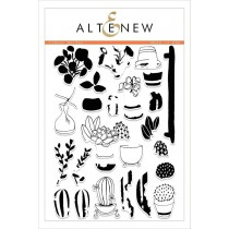 Altenew - Indoor Garden - Clear Stamps 6x8