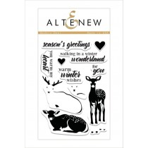 Altenew - Modern Deer - Clear Stamps 4x6