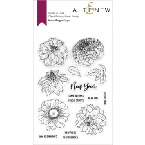 Altenew - New beginnings - Clear Stamps 4x6