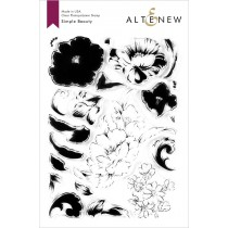 Altenew - Simple Beauty - Clear Stamp 6x8