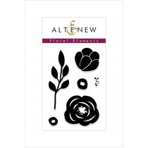 Altenew - Floral Elements - Clear Stamp 2x3