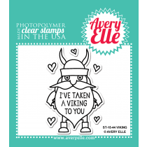 Avery Elle - Viking - Clear Stamp 2x3