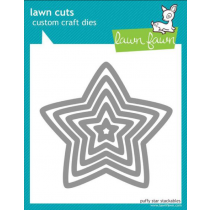 Lawn Fawn - Lawn Cuts - Puffy Star Stackable