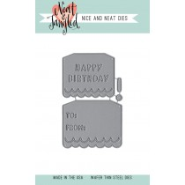 Neat & Tangled - Birthday Tags - Dies
