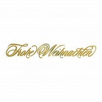 Couture Creations Hotfoil Stamp - Frohe Weihnachten