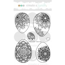 Create A Smile - Easter Eggs - Clear Stamps 4x6