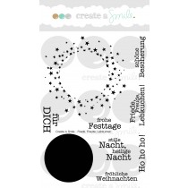 Create A Smile - Bärmail - Clear Stamps 4x6