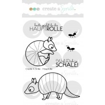 Create A Smile - Hauptrolle - Clear Stamps 3x4