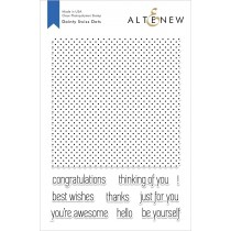 Altenew - Dainty Swiss Dots - Clear Stamp 6x8