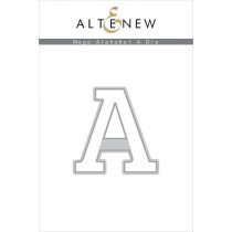 Altenew - Mega Alphabet A - Stanze