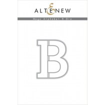 Altenew - Mega Alphabet B - Stanze