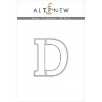 Altenew - Mega Alphabet D - Stanze