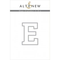 Altenew - Mega Alphabet E - Stanze
