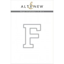 Altenew - Mega Alphabet F - Stanze