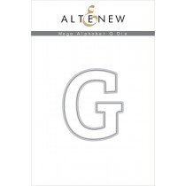 Altenew - Mega Alphabet G - Stanze
