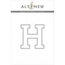 Altenew - Mega Alphabet H - Stanze