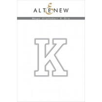 Altenew - Mega Alphabet K - Stanze
