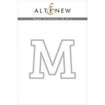 Altenew - Mega Alphabet M - Stanze