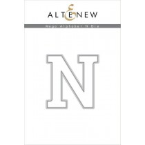 Altenew - Mega Alphabet N - Stanze