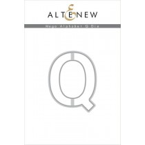 Altenew - Mega Alphabet Q - Stanze