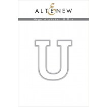 Altenew - Mega Alphabet U - Stanze