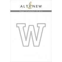 Altenew - Mega Alphabet W - Stanze