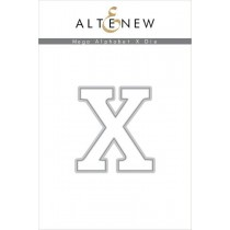 Altenew - Mega Alphabet X - Stanze