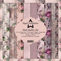 Paper Favourites - Pink Shabby Chic - Paperpad 6x6