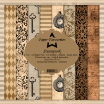 Paper Favourites - Steampunk - Paperpad 6x6