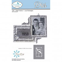 Elizabeth Craft Designs - Fitted Frames 1 Lace Rectangles