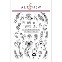 Altenew - Hello Sunshine - Clear Stamps 6x8