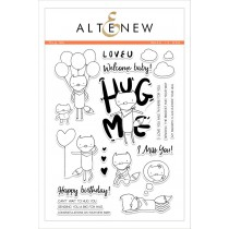 Altenew - Hug Me - Clear Stamps 6x8