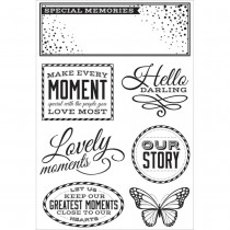 Kaisercraft - Clear Stamps 4x6 - All That Glitters