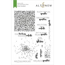 Altenew - Kind Confetti - Clear Stamp 6x8