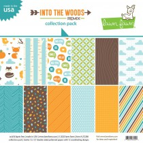 Lawn Fawn - Collection Pack 12x12 - Into The Woods