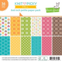 Lawn Fawn - Petite Paper Pack 6x6 - Knit Picky Fall