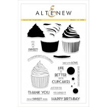 Altenew - Layered Cupcakes - Clear Stamps 6x8