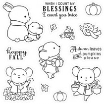 LDRS Creative - Happy Fall - Clear Stamp