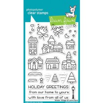 Lawn Fawn - Winter Village - Clear Stamps 4x6