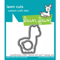 Lawn Fawn - Llama Tell You - Stanze