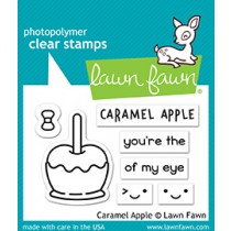 Lawn Fawn - Caramel Apple - Clear Stamps 2x3
